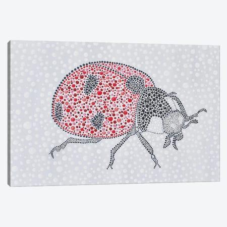 Ladybug Love Canvas Print #AYD41} by Amy Diener Canvas Art