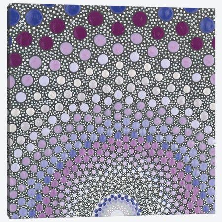 Purple Shine Canvas Print #AYD62} by Amy Diener Canvas Artwork