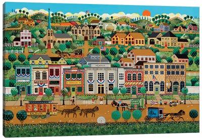 My Hometown Canvas Art Print