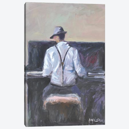 Play Me A Tune Canvas Print #AYN100} by Allayn Stevens Canvas Art Print
