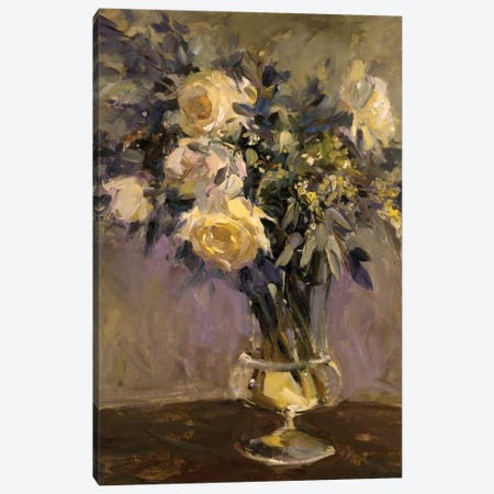 Evening Vase Canvas Print #AYN10} by Allayn Stevens Canvas Print