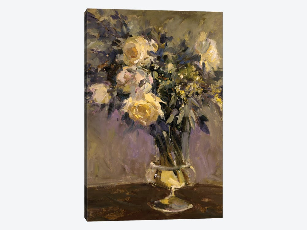 Evening Vase by Allayn Stevens 1-piece Canvas Print