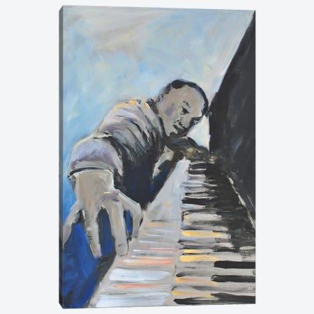 Listen To The Music II Canvas Print #AYN110} by Allayn Stevens Canvas Art