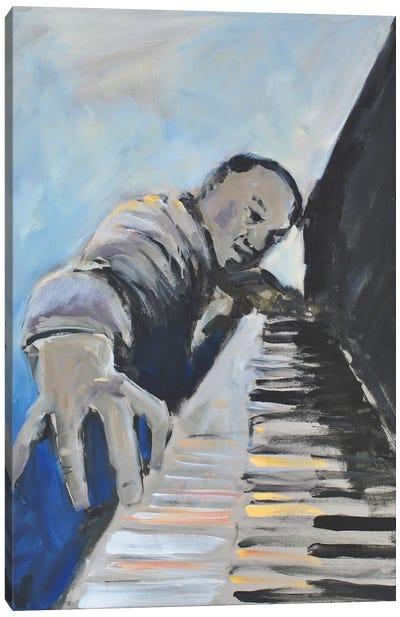 Listen To The Music II Canvas Art Print