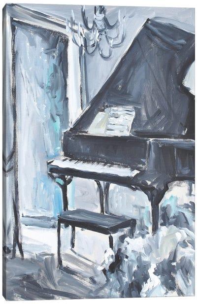 Piano Blues I Canvas Art Print