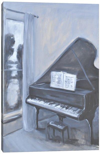 Piano Blues IV Canvas Art Print