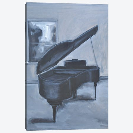 Piano Blues V Canvas Print #AYN114} by Allayn Stevens Canvas Art Print