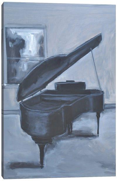 Piano Blues V Canvas Art Print