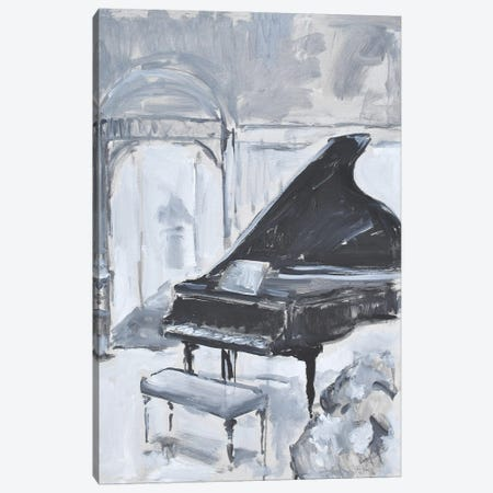 Piano Blues VI Canvas Print #AYN115} by Allayn Stevens Canvas Art Print