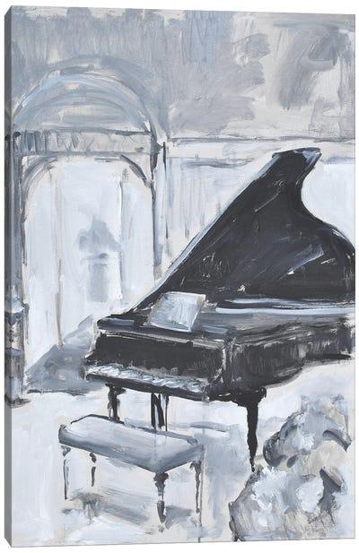 Piano Blues VI Canvas Art Print