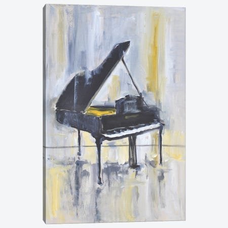 Piano in Gold II Canvas Print #AYN117} by Allayn Stevens Canvas Art Print