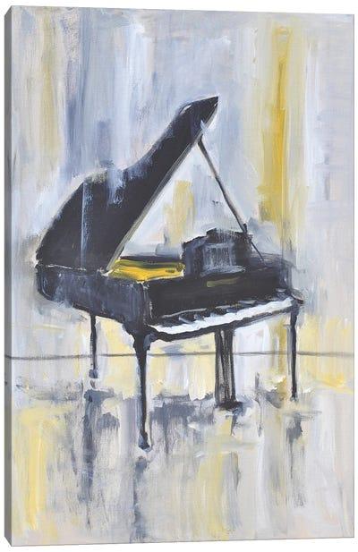 Piano in Gold II Canvas Art Print