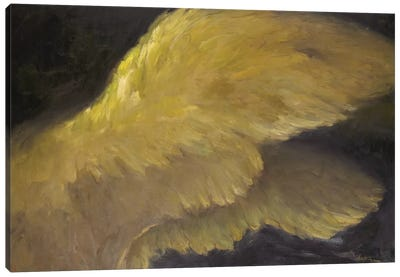 Golden Wings I Canvas Art Print