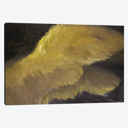Golden Wings I Canvas Print #AYN13} by Allayn Stevens Canvas Art Print