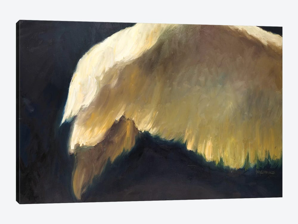 Golden Wings II by Allayn Stevens 1-piece Canvas Art Print