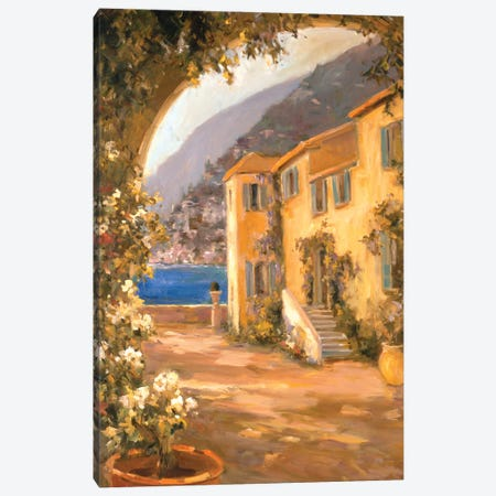 Italian Villa I Canvas Print #AYN16} by Allayn Stevens Canvas Artwork