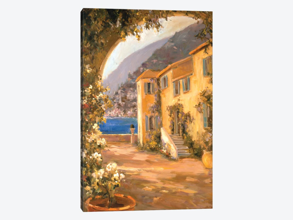 Italian Villa I by Allayn Stevens 1-piece Canvas Art Print