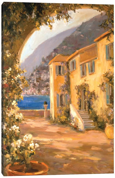 Italian Villa I Canvas Art Print