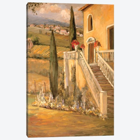 Italian Villa II Canvas Print #AYN17} by Allayn Stevens Canvas Wall Art