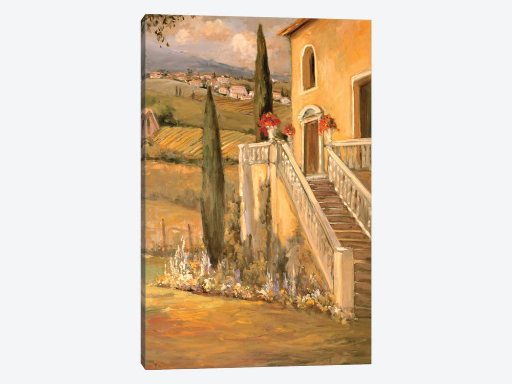 Italian Villa II by Allayn Stevens 1-piece Canvas Wall Art