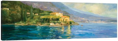 Lake Como Canvas Art Print