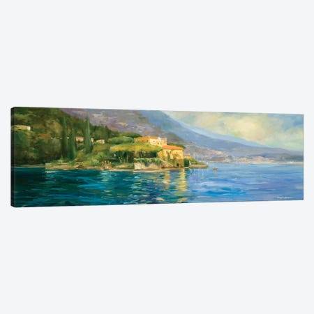 Lake Como 3-Piece Canvas #AYN18} by Allayn Stevens Canvas Print