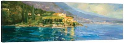 Lake Como Canvas Art Print
