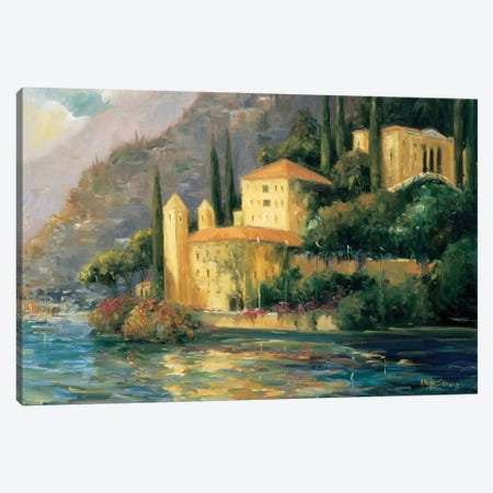Lake Villa Canvas Print #AYN20} by Allayn Stevens Canvas Art