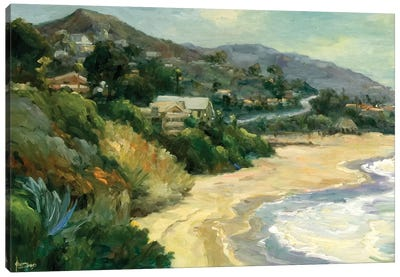 Seaside Cove Canvas Art Print