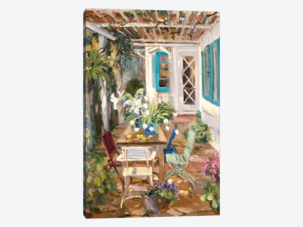 Summer Garden by Allayn Stevens 1-piece Canvas Print