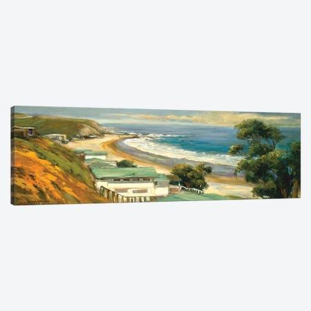 Sunlit Cove Canvas Print #AYN37} by Allayn Stevens Canvas Wall Art