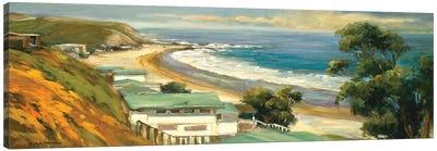 Sunlit Cove Canvas Art Print