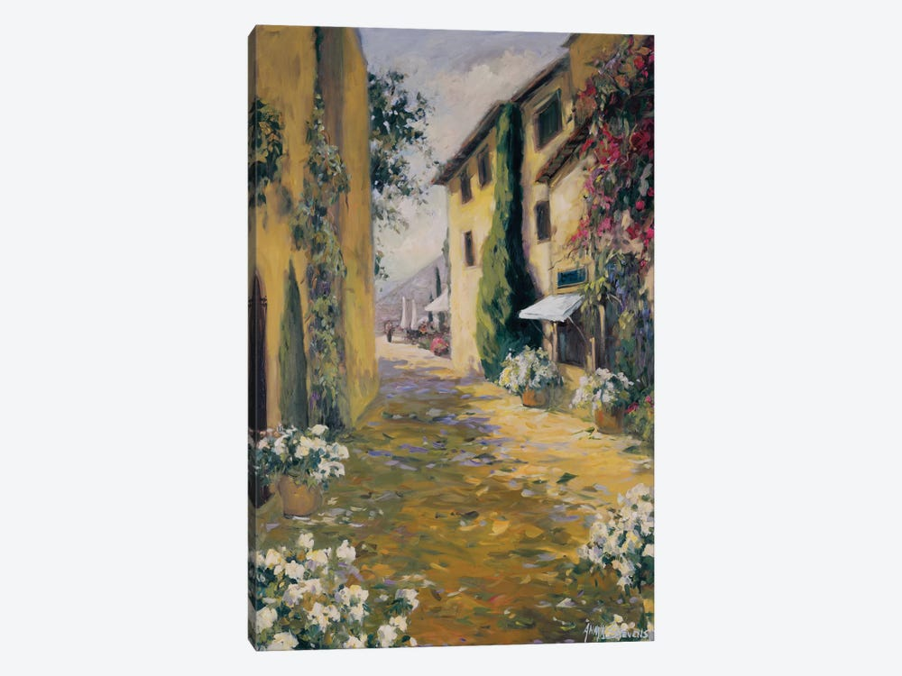 Sunlit Villa I 1-piece Canvas Print