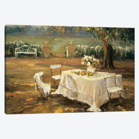 Sunset Meadow Canvas Print #AYN41} by Allayn Stevens Canvas Artwork