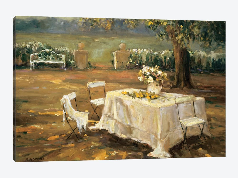 Sunset Meadow by Allayn Stevens 1-piece Canvas Art Print