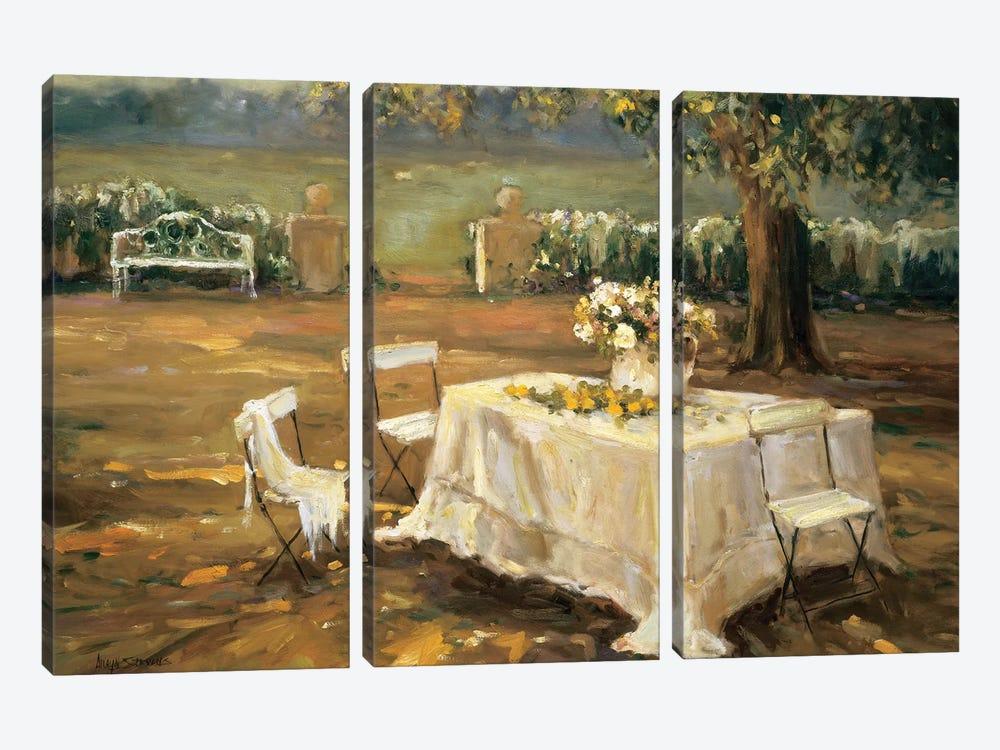 Sunset Meadow by Allayn Stevens 3-piece Canvas Print