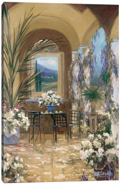 The Veranda I Canvas Art Print
