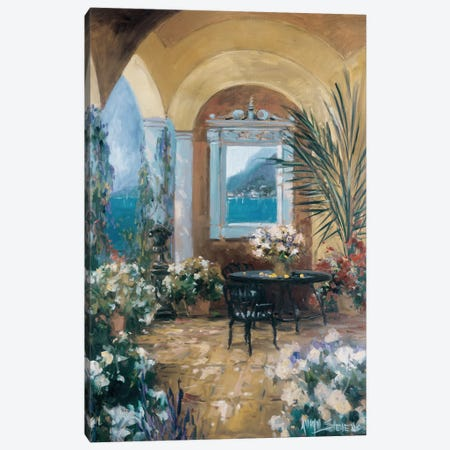 The Veranda II Canvas Print #AYN43} by Allayn Stevens Canvas Art