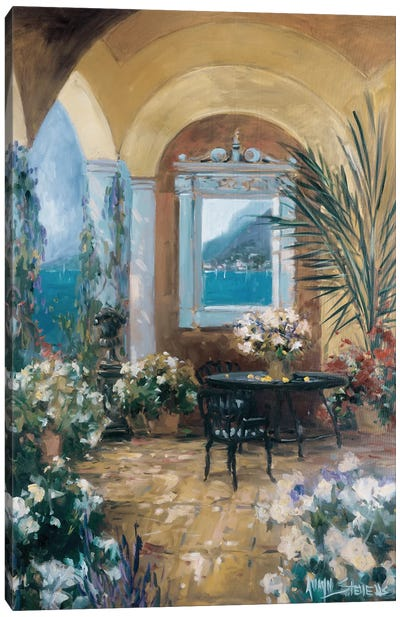 The Veranda II Canvas Art Print