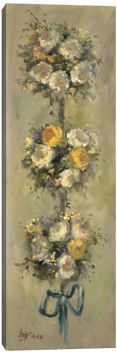 Topiary Bouquet I Canvas Art Print