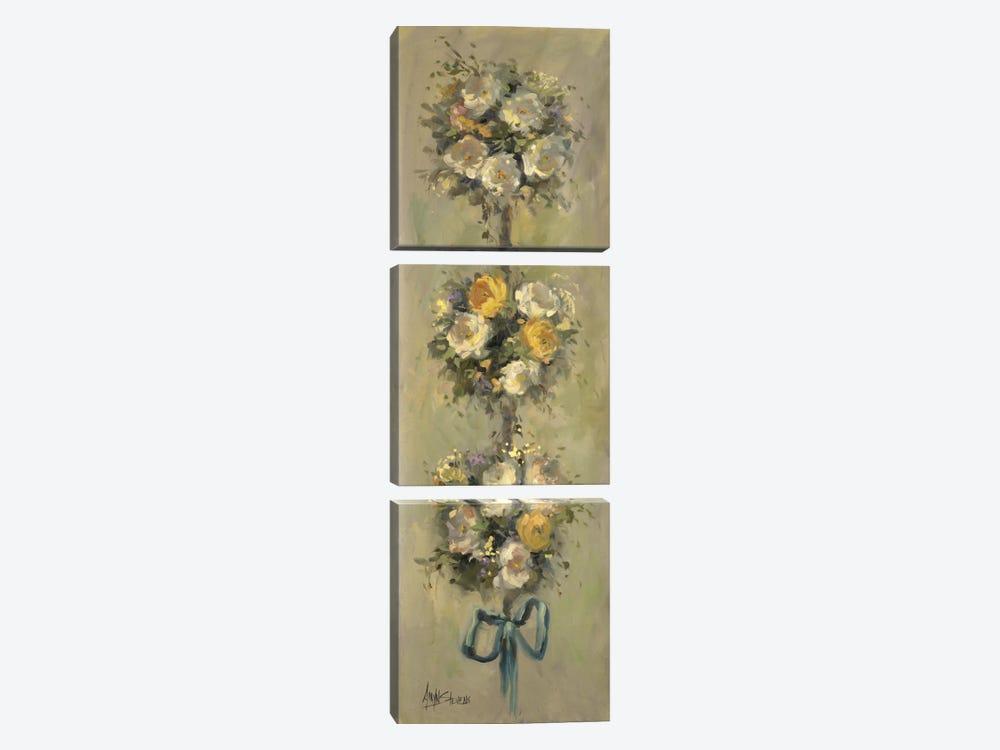 Topiary Bouquet I by Allayn Stevens 3-piece Canvas Wall Art