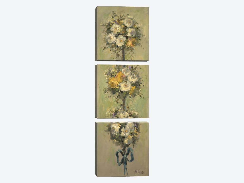 Topiary Bouquet II by Allayn Stevens 3-piece Canvas Print