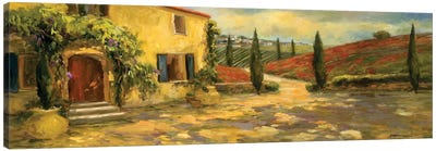 Tuscan Fields Canvas Art Print