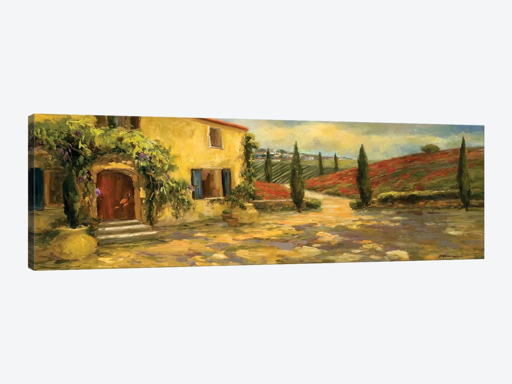 Tuscan Fields by Allayn Stevens 1-piece Art Print