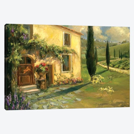 Tuscan Spring Canvas Print #AYN48} by Allayn Stevens Canvas Art