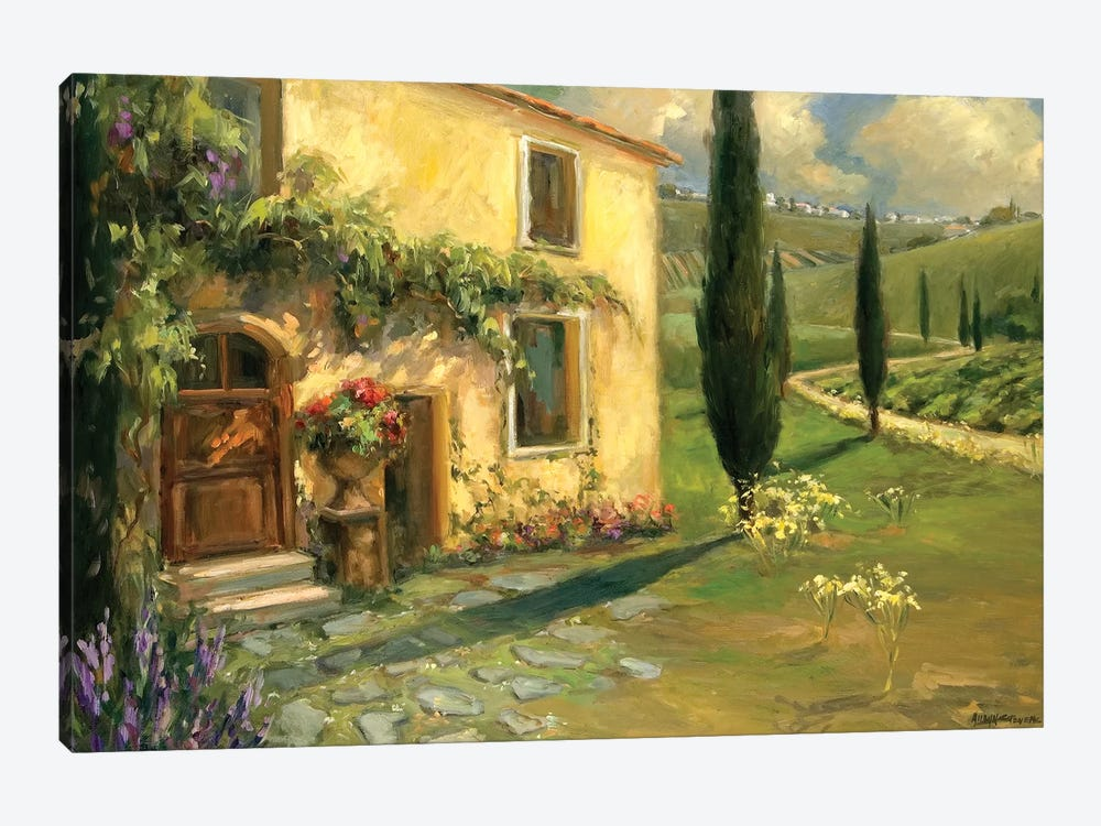 Tuscan Spring 1-piece Canvas Art