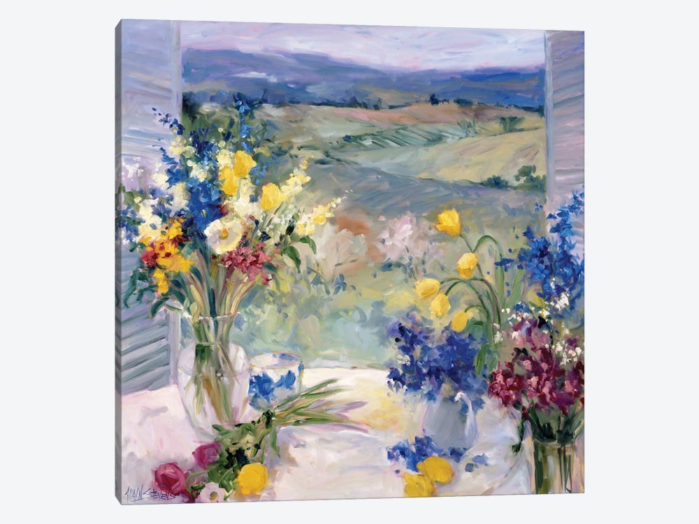 Tuscany Floral 1-piece Canvas Print