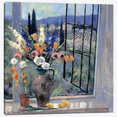 Tuscany Hillside II Canvas Print #AYN50} by Allayn Stevens Art Print