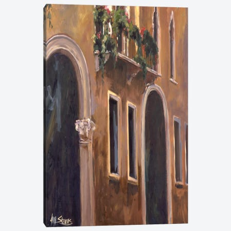 Venice Windows Canvas Print #AYN52} by Allayn Stevens Canvas Print