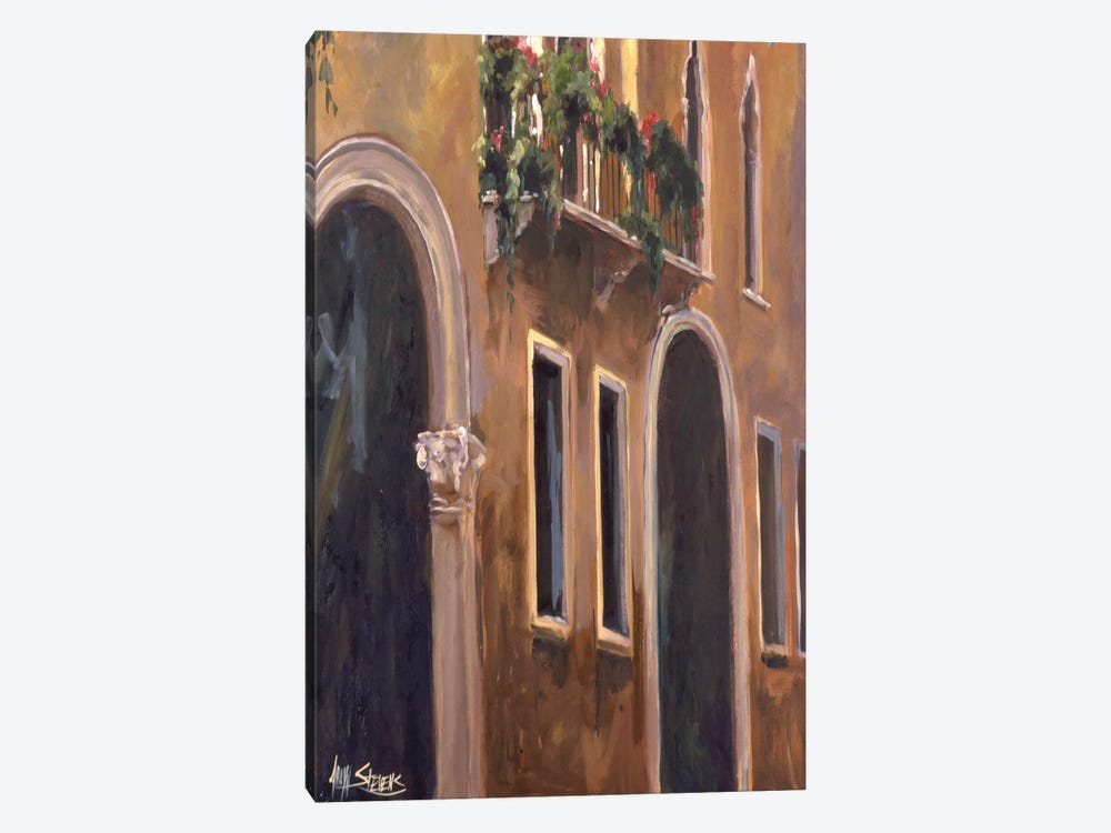 Venice Windows by Allayn Stevens 1-piece Canvas Print
